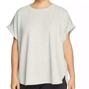 Cupio Heather Gray cuffed Tunic